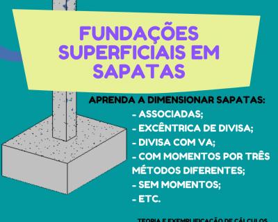 PLANILHA PARA CÁLCULO DE SAPATAS